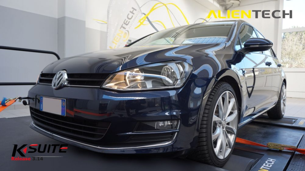VW Golf On Dyno Remap Development